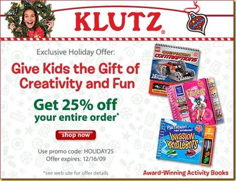 Klutz_CouponCode_Image