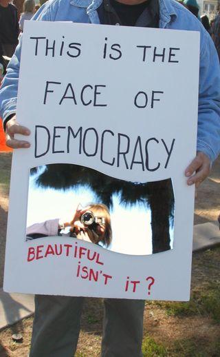 Faceofdemocracy